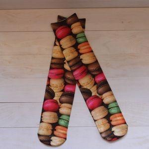 Macaroon, Candy, Pretzel, Gummy, Donut Socks
